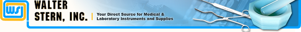 Walter Stern, Inc. |Your Direct Source for Medical & Laboratory Instruments and Supplies